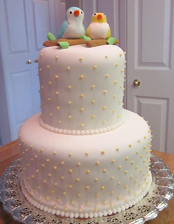 The cake is done!